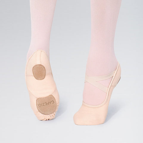Capezio 2037 Hanami Canvas Stretch Split Sole Ballet Shoes - Dazzle Dancewear Ltd