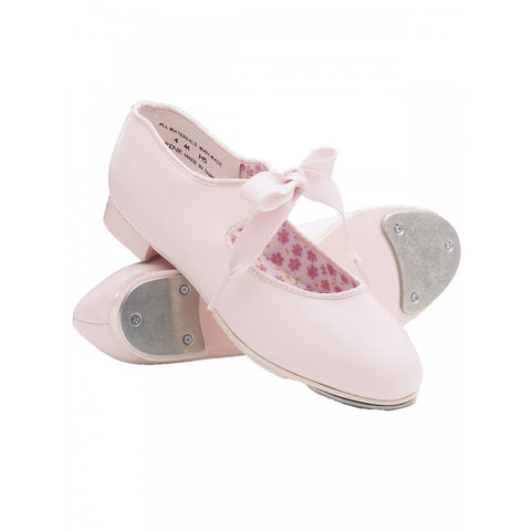 Capezio 625 Pink Junior Tyette Tap Shoes - Dazzle Dancewear Ltd