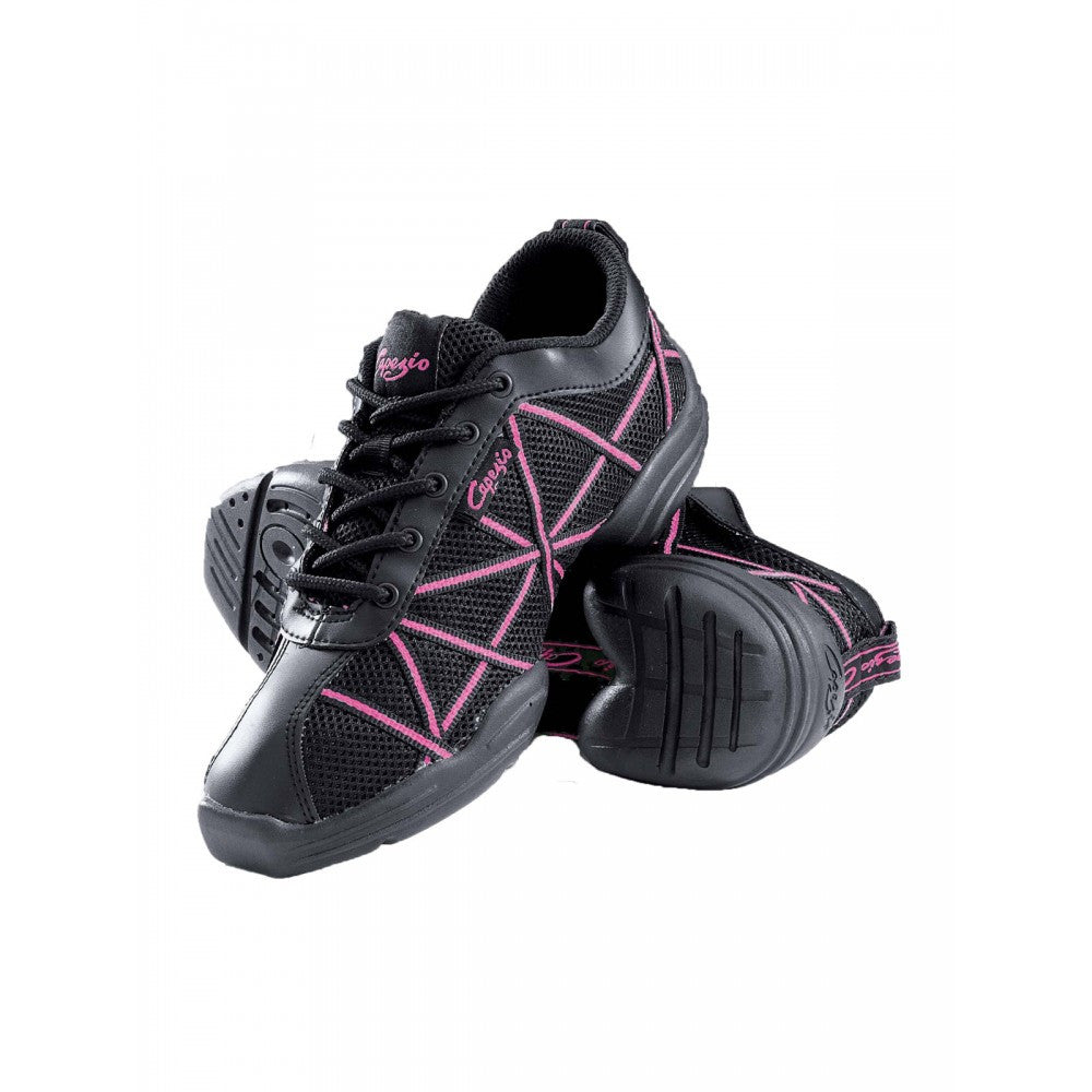 Capezio DS19 Hot Pink Web Dance Sneakers
