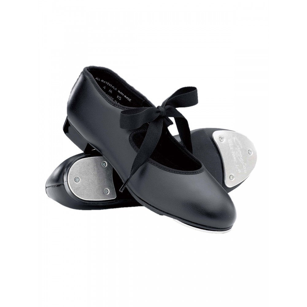 Capezio 925 Black Junior Tyette Tap Shoes