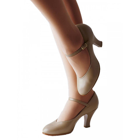Capezio 656 Tan Professional Theatrical Shoes