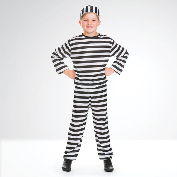 Convict Outfit with Hat-Dazzle Dancewear Ltd