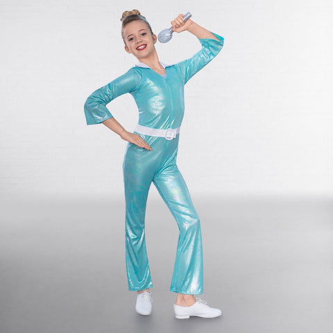 70's Pop Diva Costume-Dazzle Dancewear Ltd