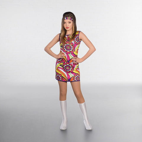 1st Position Flower 60s Mini Dress - Dazzle Dancewear Ltd