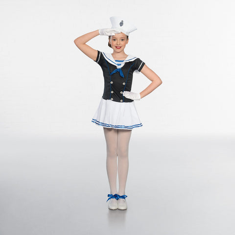 Child Sailor Girl- Dazzle Dancewear Ltd