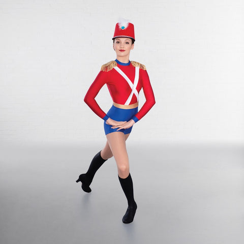 1st Position Nutcracker Soldier Dance Unitard - Dazzle Dancewear Ltd