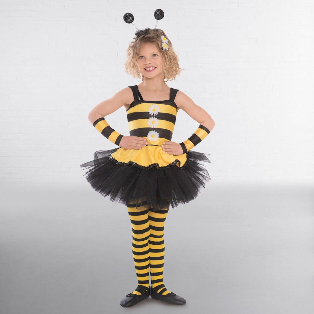 1st Position Bee Dress Overlay with Daisies-Dazzle Dancewear Ltd