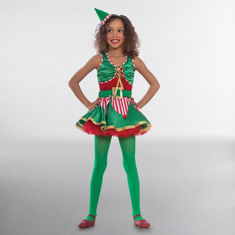 1st Position Elf Two Piece Costume-Dazzle Dancewear Ltd