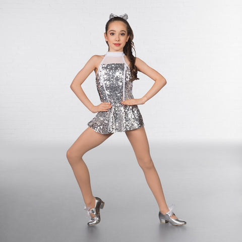 1st Position Sequin Glitz High Neck Two Piece - Dazzle Dancewear Ltd