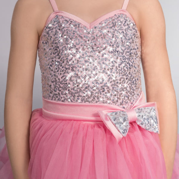 1st Position Candy Floss Sequin Glitz Dress