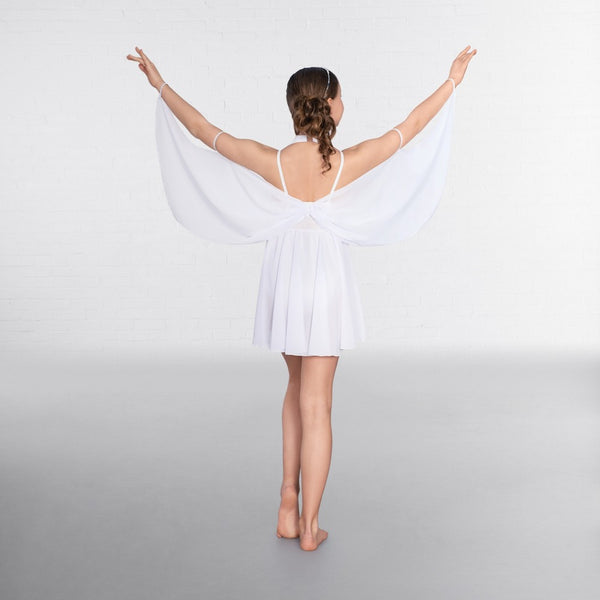 1st Position Halterneck Winged Lyrical Dress