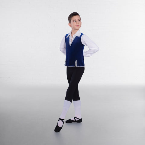 1st Position Velour Ballet Tunic - Dazzle Dancewear Ltd