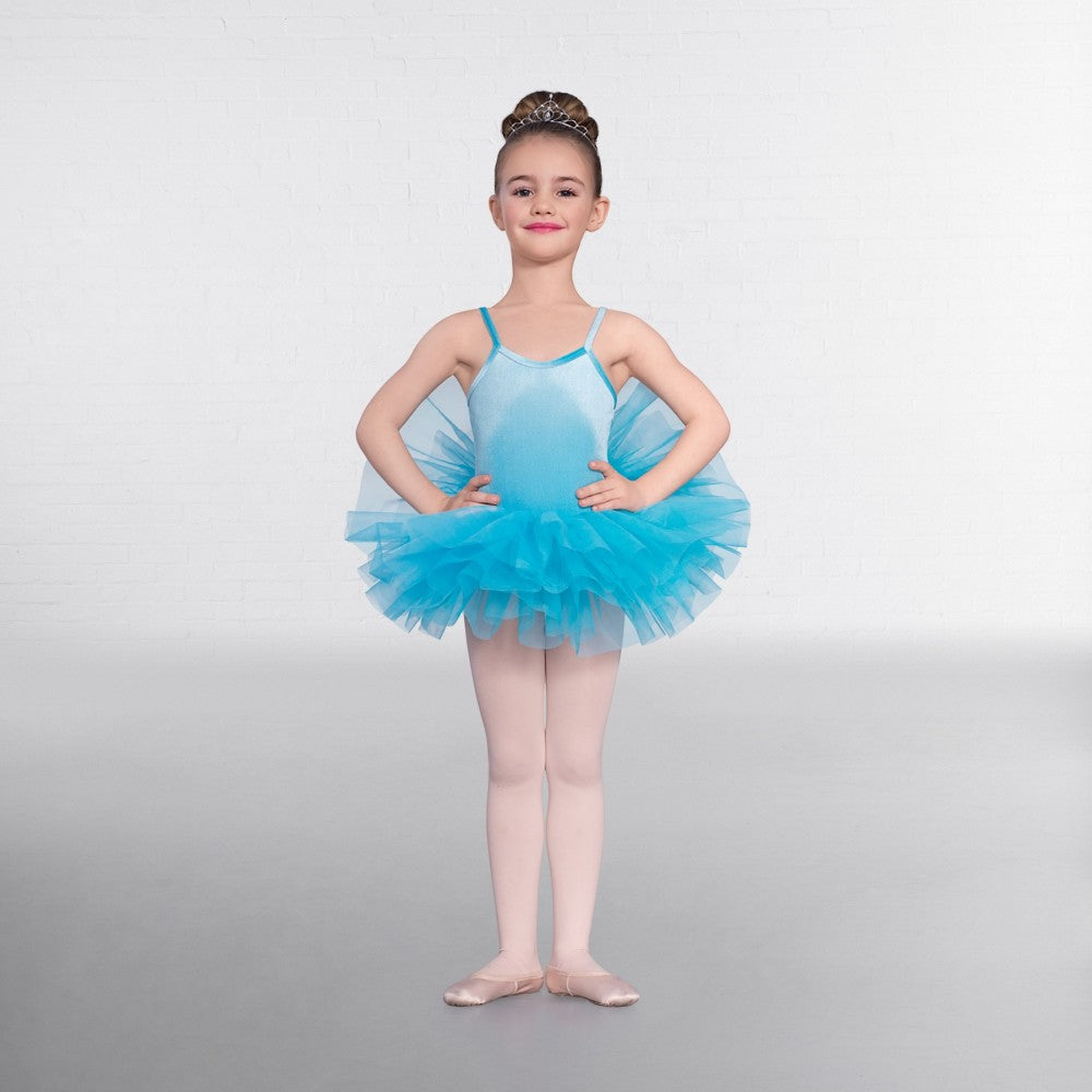 1st Position Basic Velour Tutu Various Colours - Dazzle Dancewear Ltd