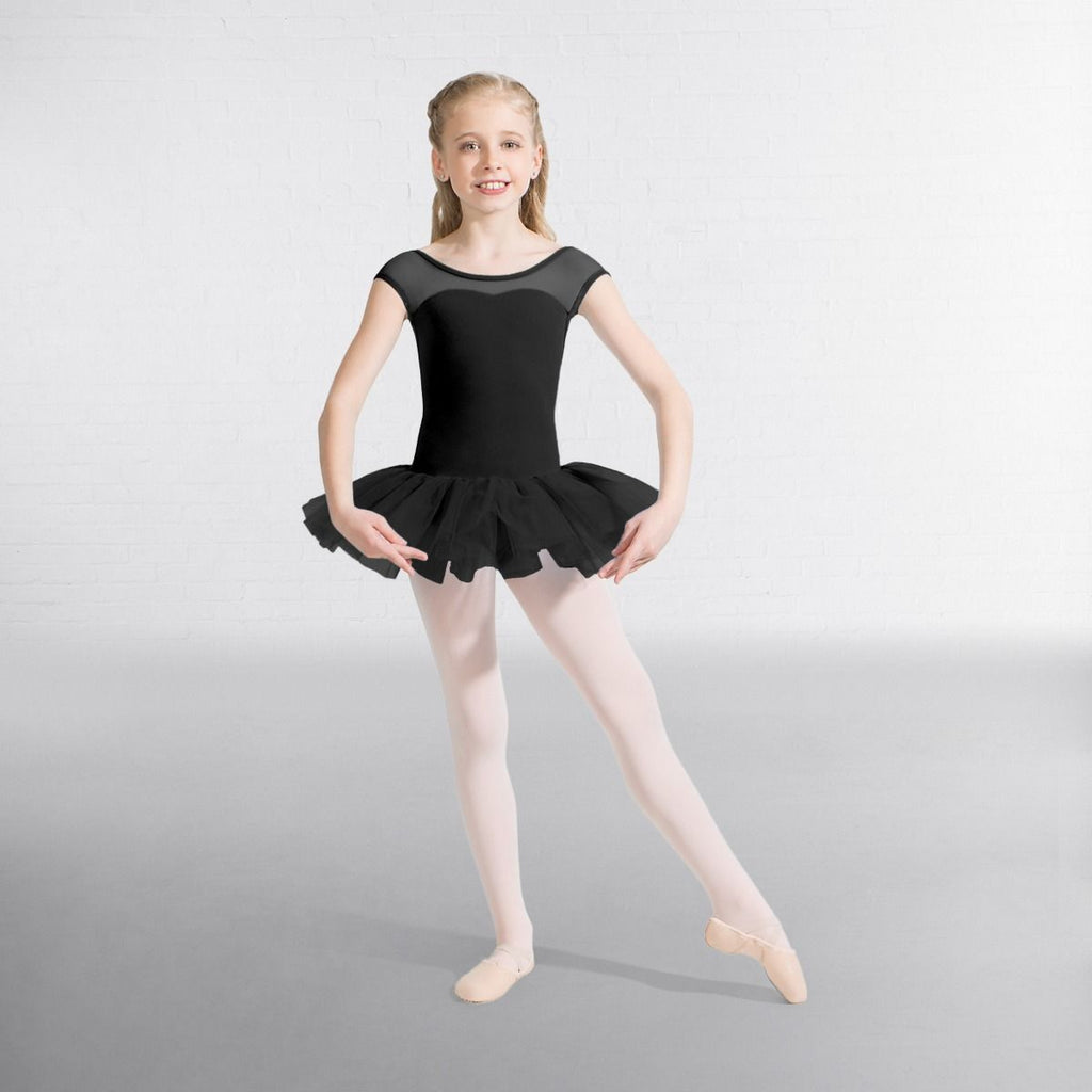 Capezio Keyhole Back Tutu Dress - Black/Blue/Pink - Dazzle Dancewear Ltd
