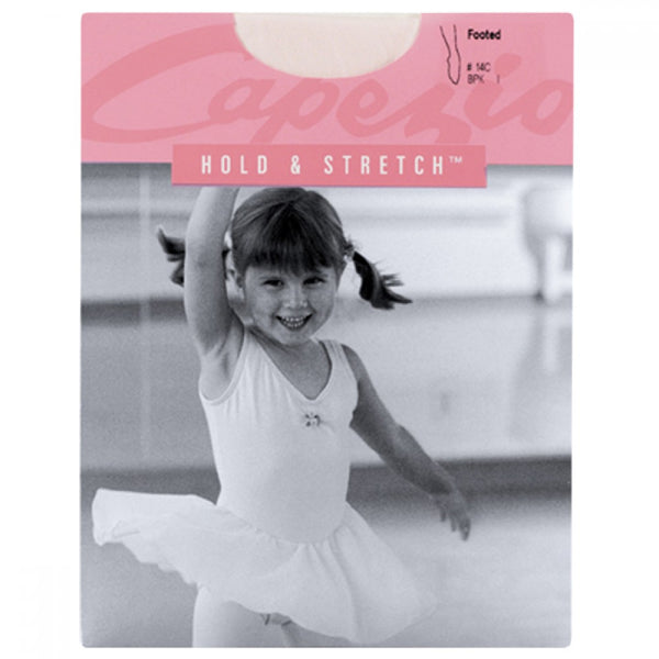 Capezio 14C Childs Hold & Stretch Footed Tights