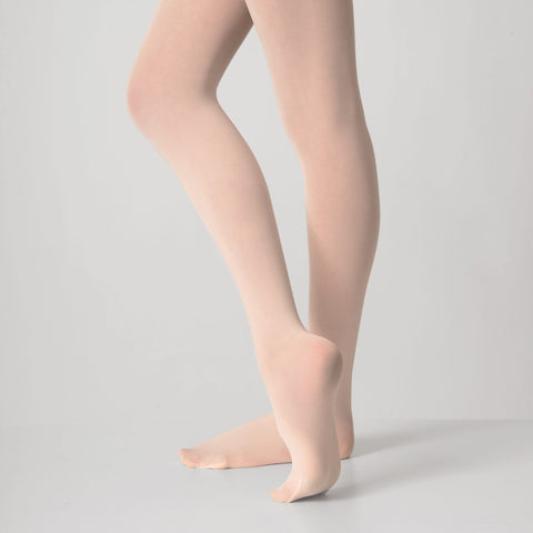 Capezio Studio Basics Footed Tights-Dazzle Dancewear Ltd