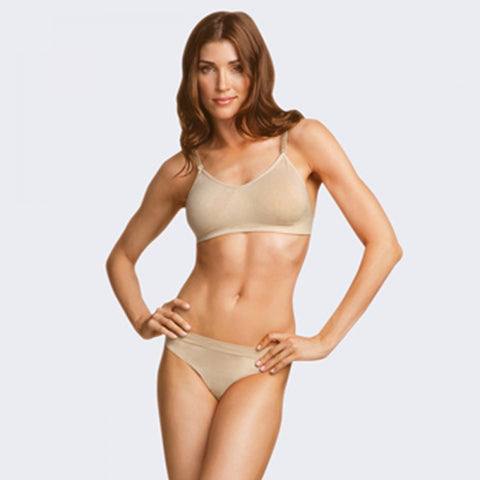 Capezio 3683 Seamless Clear Back Bra - Dazzle Dancewear Ltd