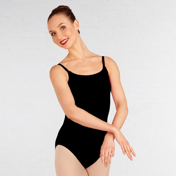 Capezio BD101 Bodisilk Cami Leotard With X Back Straps - Dazzle Dancewear Ltd