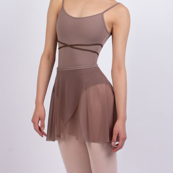 Grishko Coffee Mesh Ballet Skirt