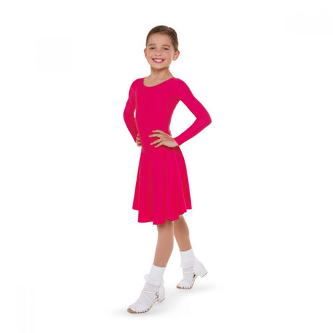 1st Position Ballroom Practice Dress - Dazzle Dancewear Ltd
