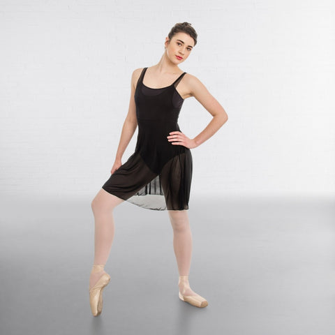 1st Position Mesh Lyrical Ballet Dance Tunic