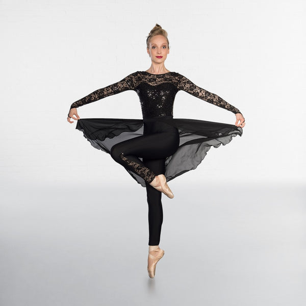 1st Position Sequin Lace Unitard - Dazzle Dancewear Ltd
