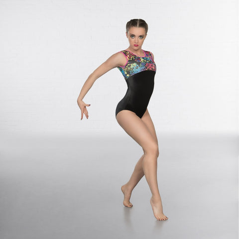 1st Position Starburst Sleeveless Leotard