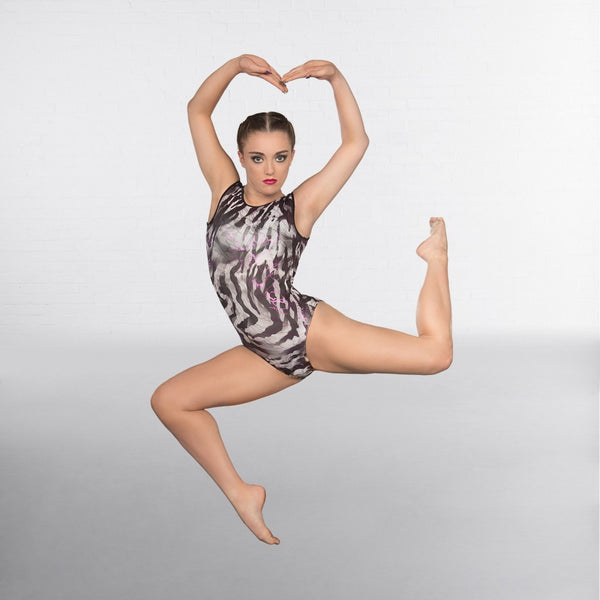 1st Position Eclipse Sleeveless Gymnastic Leotard