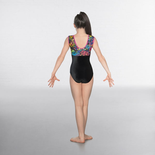 1st Position Starburst Sleeveless Leotard - Dazzle Dancewear Ltd
