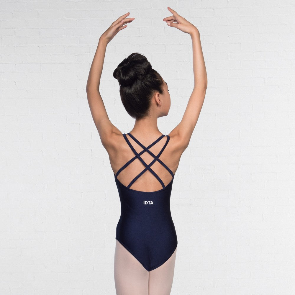 IDTA Double Strapped Nylon Leotard - Dazzle Dancewear Ltd