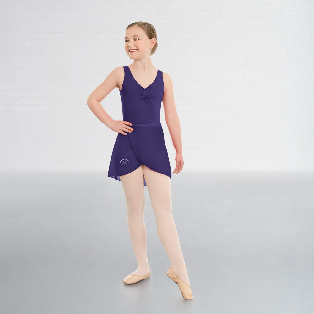 Junior Ballet Purple Ballet Dance Leotard - Dazzle Dancewear Ltd