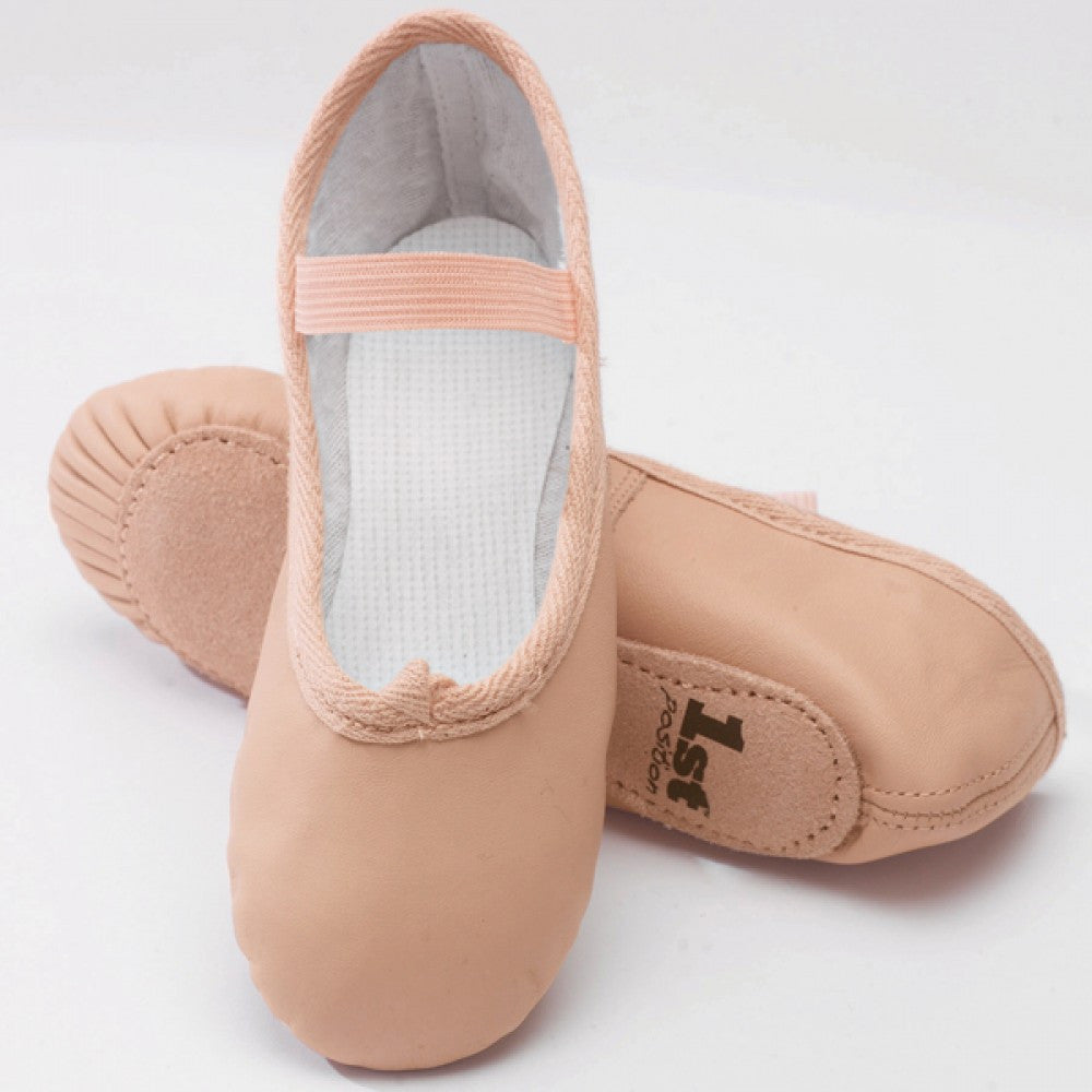 St Position Pink Leather Ballet Shoes Dazzle Dancewear Ltd - Abt ballet shoes