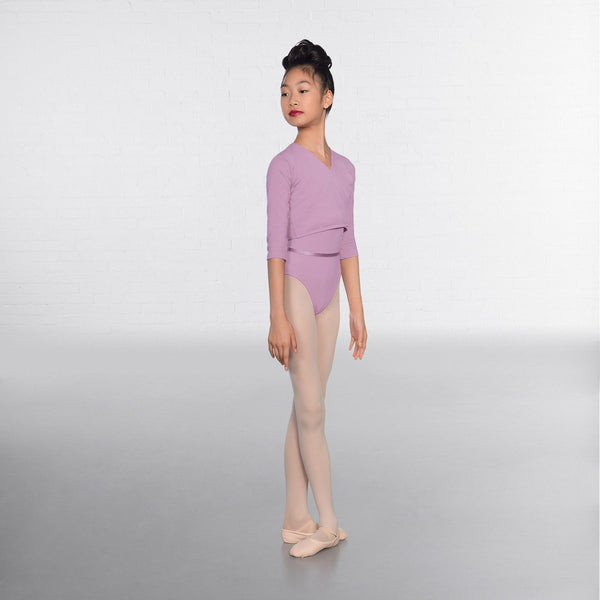 1st Position Lilac X Over Cardigan 3/4 sleeves  - Dazzle Dancewear Ltd