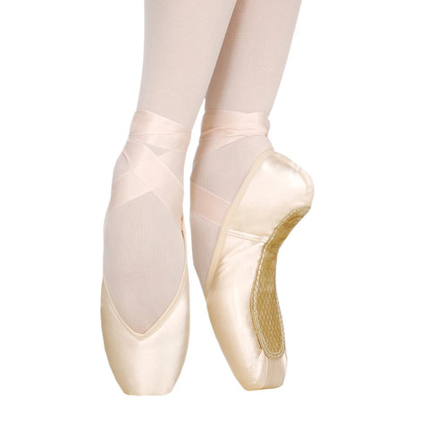Maya I Pointe Shoes With Drawstring | Dazzle Dancewear Ltd