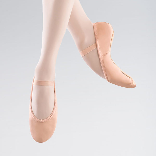 Bloch 205 Dansoft Leather Ballet Shoes | Dazzle Dancewear Ltd