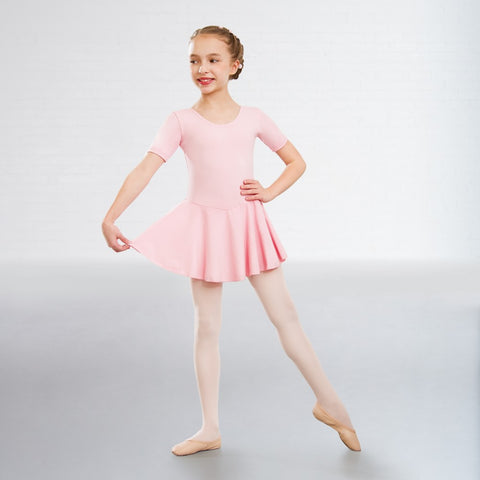 1st Position Cotton Skirted Ballet Dance Leotard