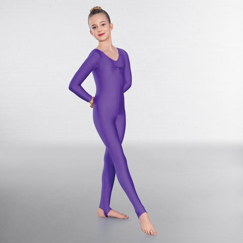 1st Position Long Sleeved Dance Catsuit