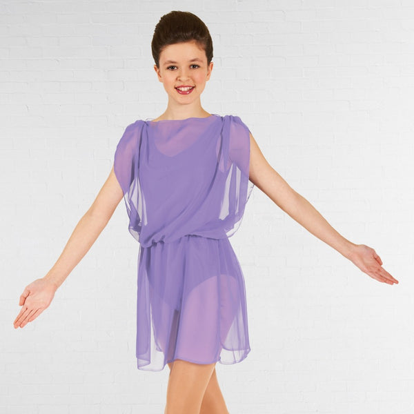 1st Position Lyrical Ballet Dance Tunic - Dazzle Dancewear Ltd