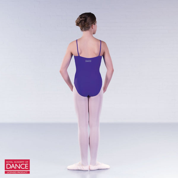 RAD Approved Princess Line Camisole Pleat Front Leotard