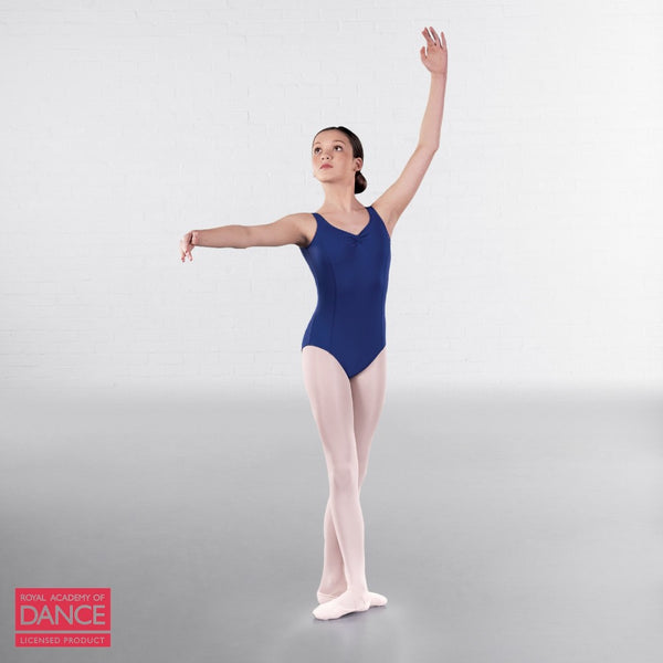 RAD Approved Princess Line Ruche Front & Back Leotard