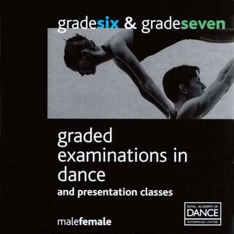 Syllabus CD Grade 6-7 (Male & Female) - Dazzle Dancewear Ltd