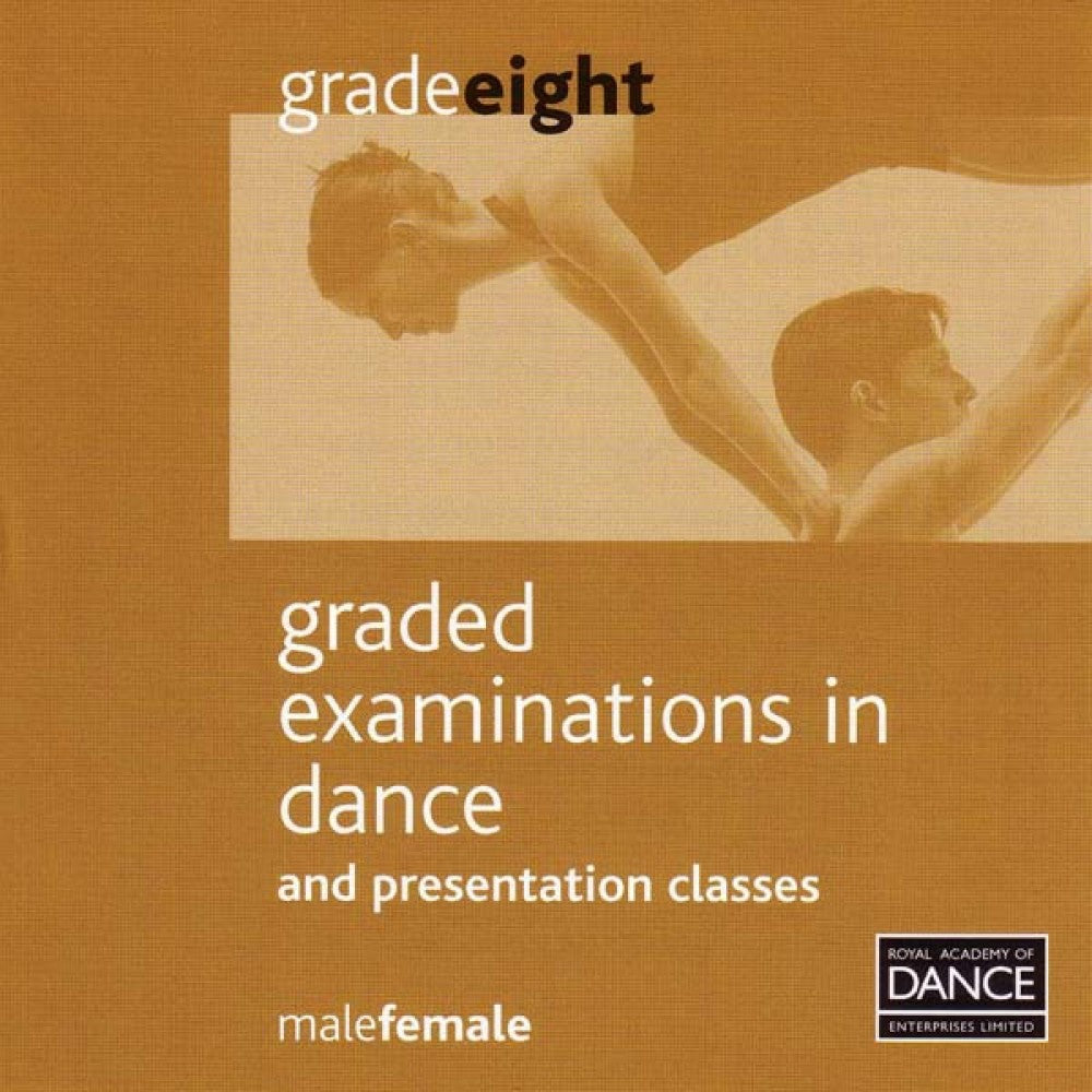 Syllabus CD Grade 8 (Male & Female) - Dazzle Dancewear Ltd