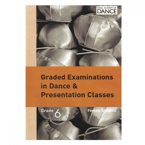 RAD Syllabus DVD Grade 6 (Female) - Dazzle Dancewear Ltd