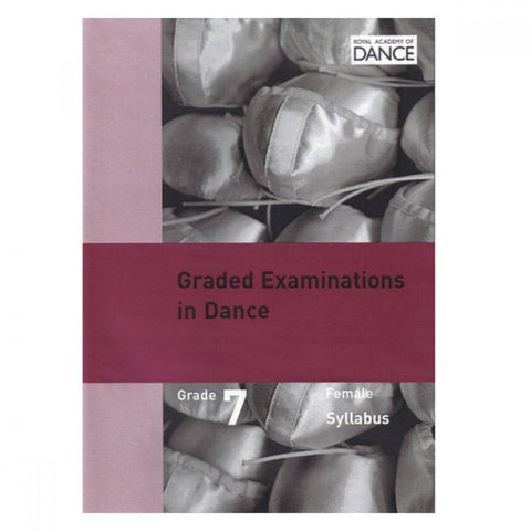 Syllabus DVD Grade 7 (Female) - Dazzle Dancewear Ltd