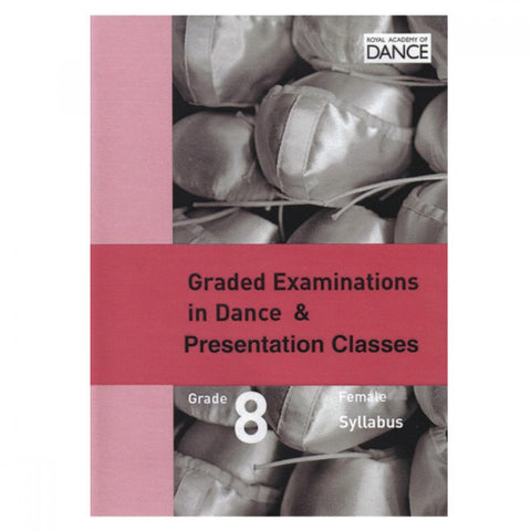 Syllabus DVD Grade 8 (Female) - Dazzle Dancewear Ltd