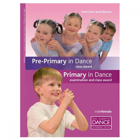 RAD Pre-Primary/Primary in Dance Syllabus Book - Dazzle Dancewear Ltd
