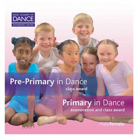 RAD Pre Primary/Primary in Dance CD's (Set of 2) - Dazzle Dancewear Ltd