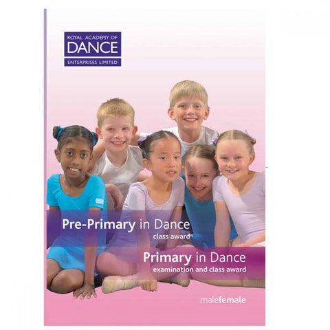 RAD Pre Primary/Primary in Dance DVD's (Set of 2) - Dazzle Dancewear Ltd