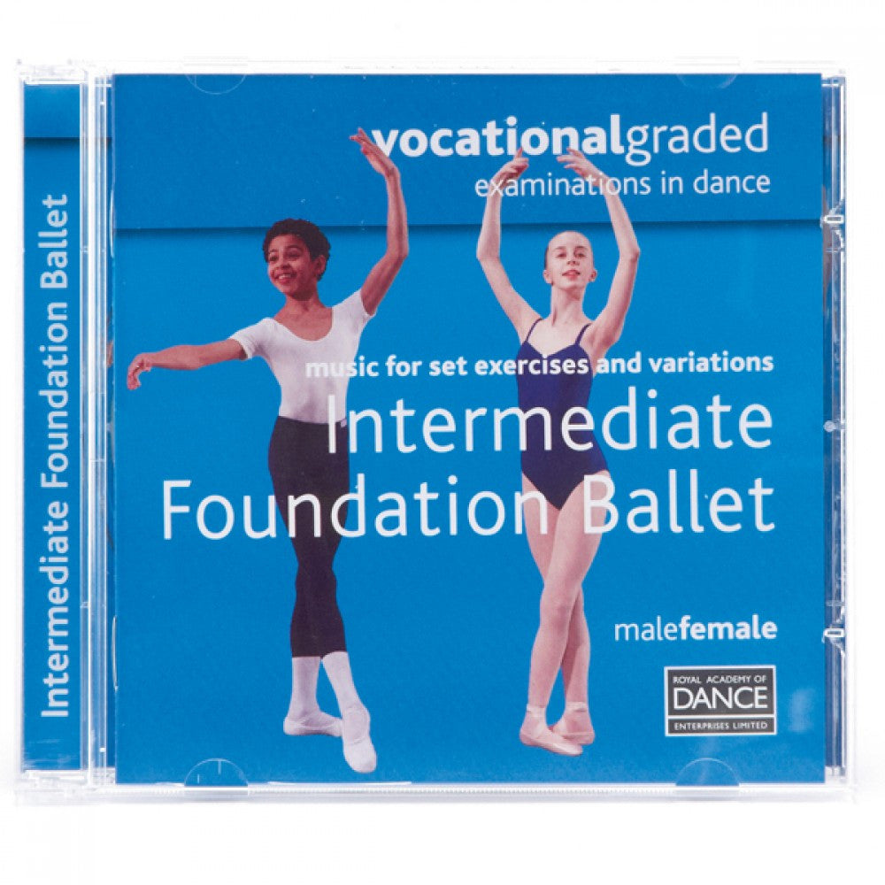 RAD Vocational Intermediate Foundation Ballet CD - Dazzle Dancewear Ltd