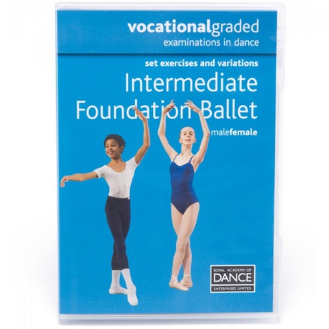 RAD Vocational Intermediate Foundation Ballet DVD - Dazzle Dancewear Ltd